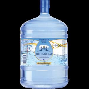 """""""Водный Дар + Йод"""" 19 литров (Многооборотная тара)"""